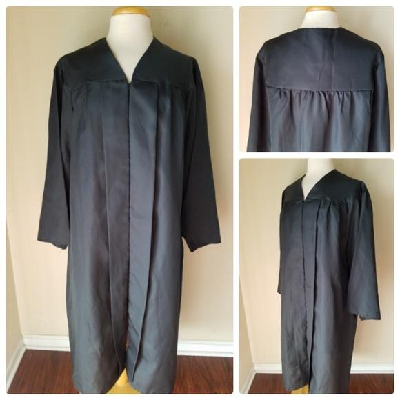 Oak Hall Dresses Graduation Gown Black Unisex 552 Poshmark